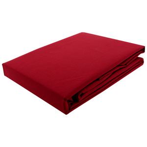 House x Home 250 Thread Count Single Fitted Sheet - Red