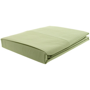 House x Home 250 Thread Count Double Flat Sheet - Green
