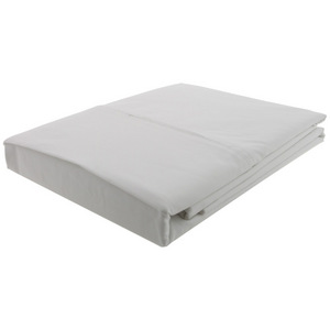 House x Home 250 Thread Count King Flat Sheet - White