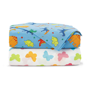 Just Kidding 200 Thread Count Single Sheet Set - Dinosaur