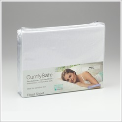 Protect-A-Bed - Cumfysafe Tencel Fitted Sheet in White Size: Single - Bed Sheets