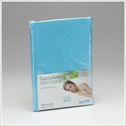 Protect-A-Bed - Cumfysafe Tencel Pillow Case in Blue - Bed Sheets