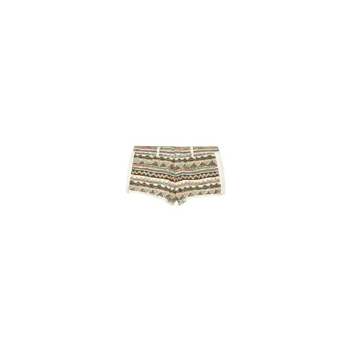 Lofina patterned jacquard shorts
