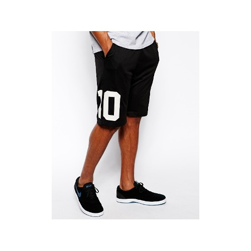 Shorts With Tripoli Mesh