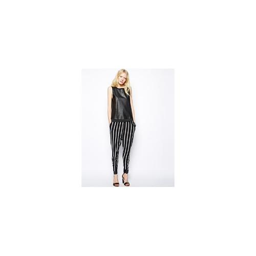 Just Female Striped Trousers