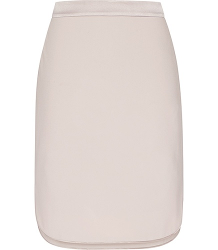 Reiss Tilly SATIN SIDE SPLIT SKIRT