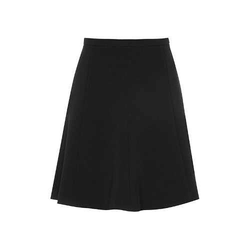 Reiss Chari FIT AND FLARE FRILL SKIRT