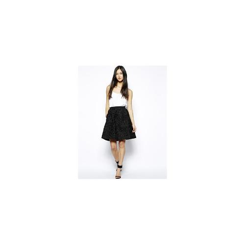 French Connection Rochelle Ribbon Flared Skirt