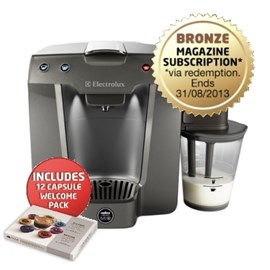 Electrolux Coffee Machine A Modo Mio Barista - Grey