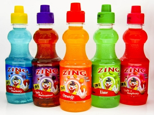 Zing Spiderman Wildberry Fruit Drink 300ml