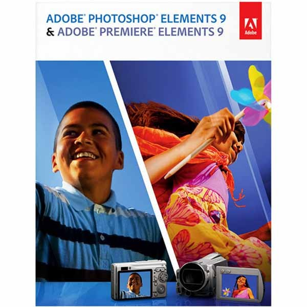 ADOBE Photoshop&Premiere Elements 9.0 Win/MAC RET