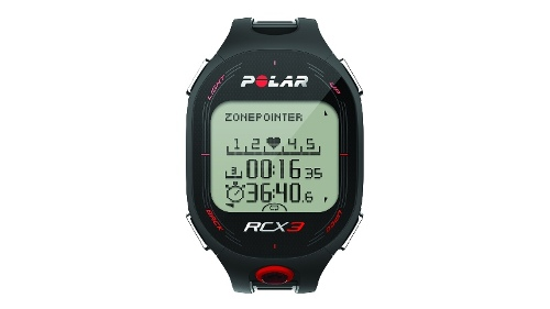 Polar RCX3 Heart Rate Monitor - Black