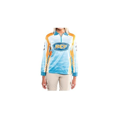 BCF Logo Sublimated Polo - Womens, Crystal, 10