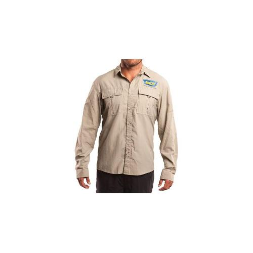 BCF Fishing Shirt - Mens, Silt, M
