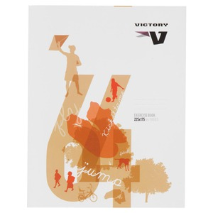 Victory Exercise Book 225X175mm 64 Page