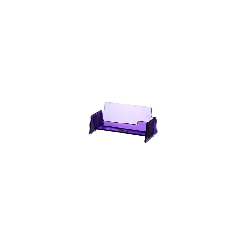 J.Burrows Business Card Holder Tinted Purple