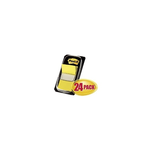 3M Post-It Flags Yellow 24 Pack