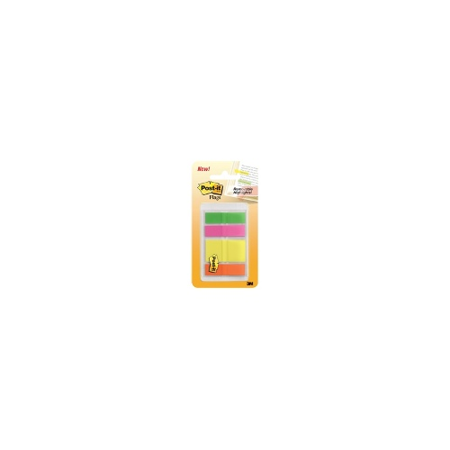 3M Post-it Assorted Sizes Translucent Flags Assorted Pk/4