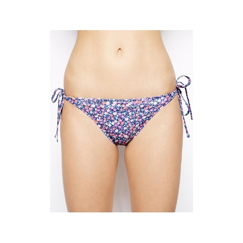 Disty Floral Tie Side Bikini Pant