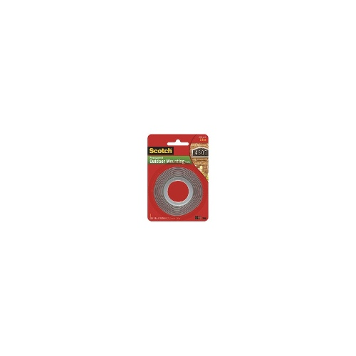 Scotch Heavy Duty Exterior Mounting Tape 25.4mm x 1.51m