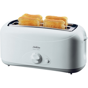 Sunbeam Thick and Thin 4 Slice Electronic Toaster - TA2410