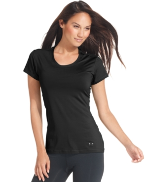 Under Armour Top, Short-Sleeve Sonic See-It-Through Tee
