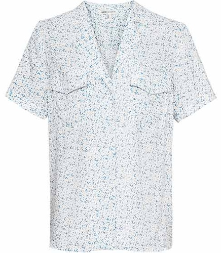 Reiss Polly DOUBLE POCKET SHORT SLEEVE SHIRT