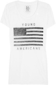 Young Americans printed jersey T-shirt