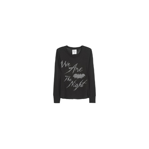 We Are The Night cotton-blend top