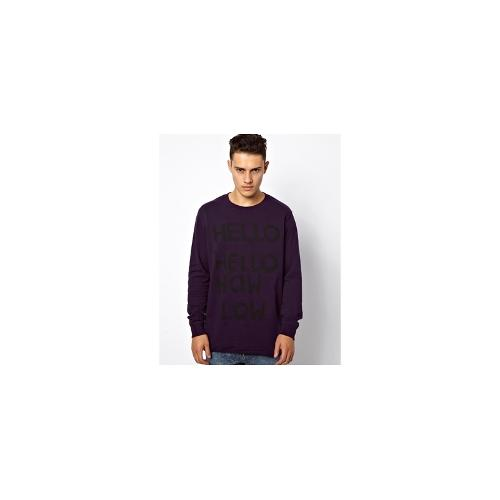 Cheap Monday Bastian Sweatshirt - Purple