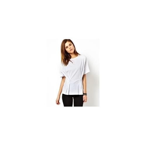 ASOS T-Shirt with Fold Detail