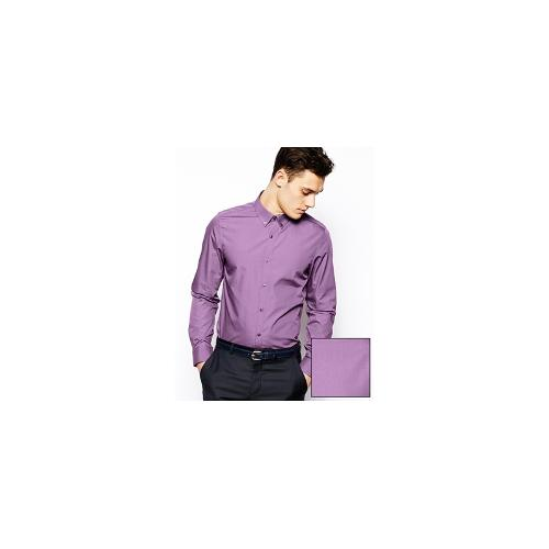 ASOS Smart Shirt In Long Sleeve With Button Down Collar