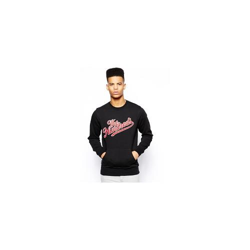 The Hundreds Sweatshirt With Classless Forever - Black