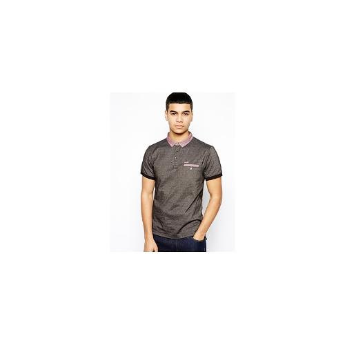 Firetrap Proyer Polo Shirt - Black