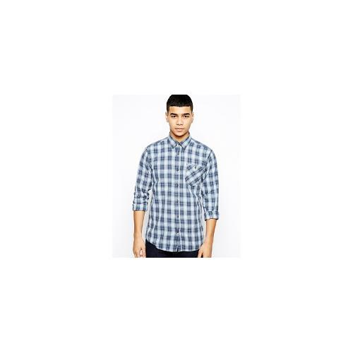 Jack & Jones Check Shirt With Long Sleeves - Bright cobalt
