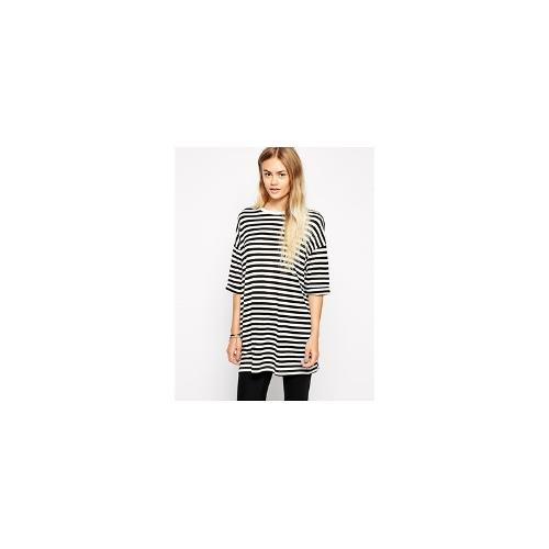 ASOS Oversized T-Shirt in Stripe