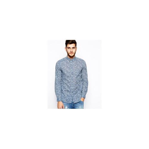 United Colors Of Benetton Shirt With Floral Print