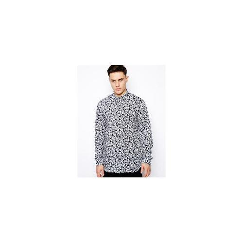 Eleven Paris Shirt with Repeat Mickey Print - Black