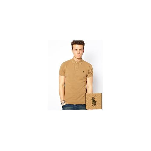 Polo Ralph Lauren Polo in Slim Fit - Brown