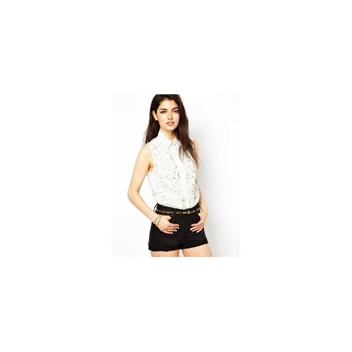 Goldie Lace Blouse - Ivory