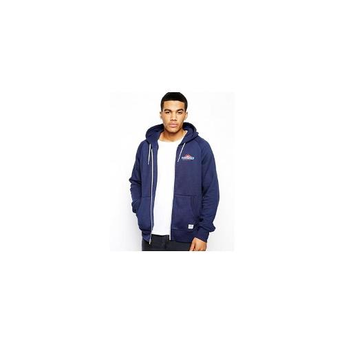 Penfield Hoody with Mountain Logo - Bl1 - blue 1