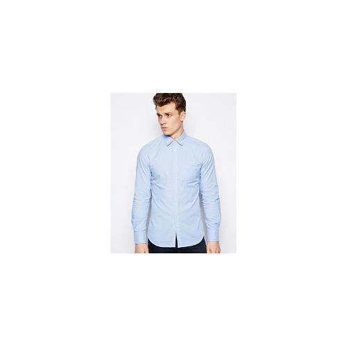 United Colors Of Benetton Jersey Shirt With Elbow Patch