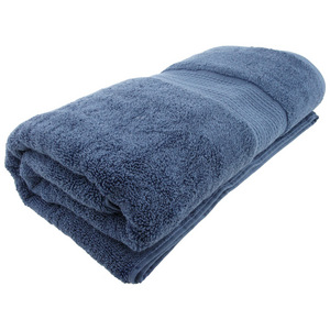House x Home Collection Egyptian Combed Cotton Bath Sheet - Blue