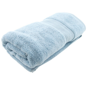House x Home Collection Egyptian Combed Cotton Bath Towel - Light Blue