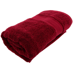 House x Home Collection Egyptian Combed Cotton Bath Towel - Red