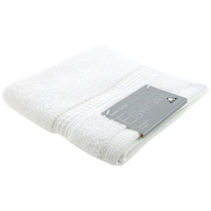 House x Home Collection Egyptian Combed Cotton Face Washer - White