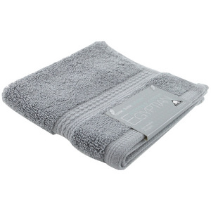 House x Home Collection Egyptian Combed Cotton Face Washer - Light Grey