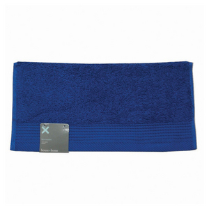 House x Home Cotton Face Washer - Cobalt