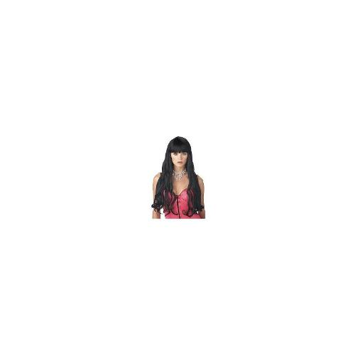 Serpentine Black Adult Wig