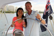 Dinner Sailing Cruise With Seafood Platter - For 2